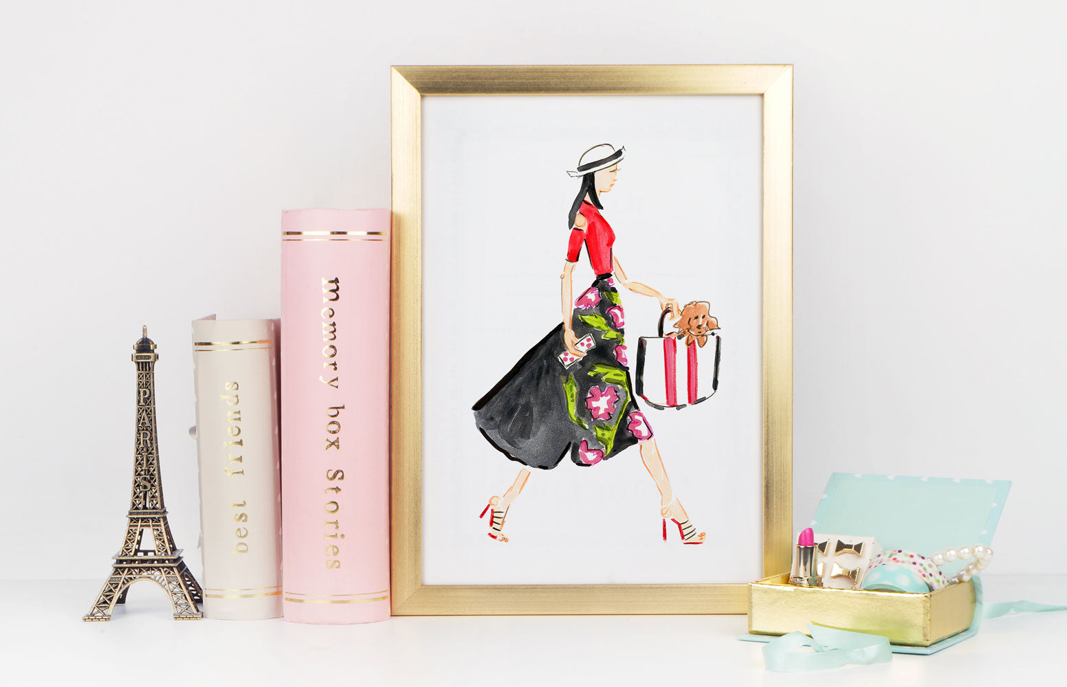 Runway Art Print - Fashion Illustration Wall Art Collection