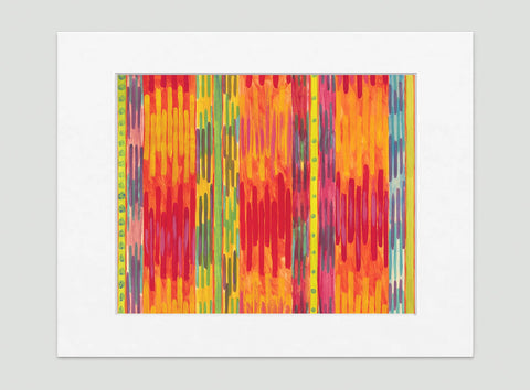 Runway Abstract Art Print Di Lewis Living Room Wall Decor