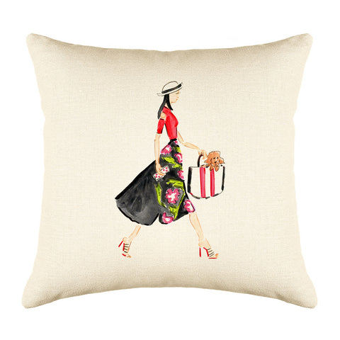 Runway Throw Pillow Cover