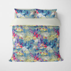FLORAL DUVET COVERS & BEDDING SETS SECRET GARDEN SUMMER - FLOWER DESIGN - HYPOALLERGENIC