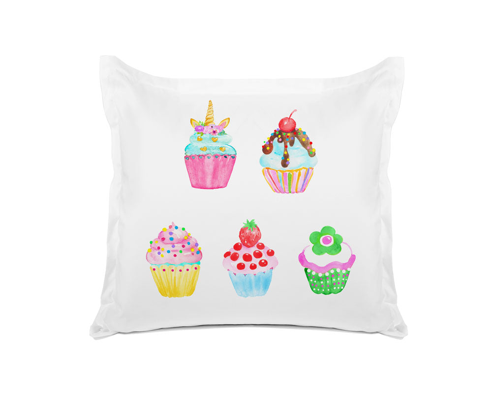 Cupcakes - Personalized Kids Pillowcase Collection