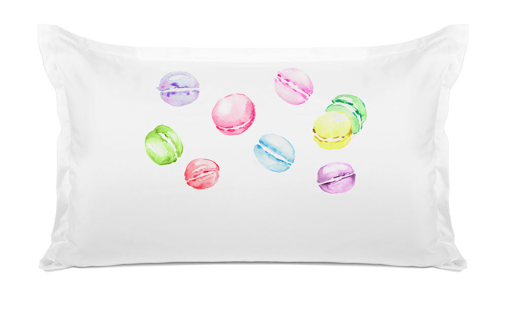 Pastel Macarons - Personalized Kids Pillowcase Collection