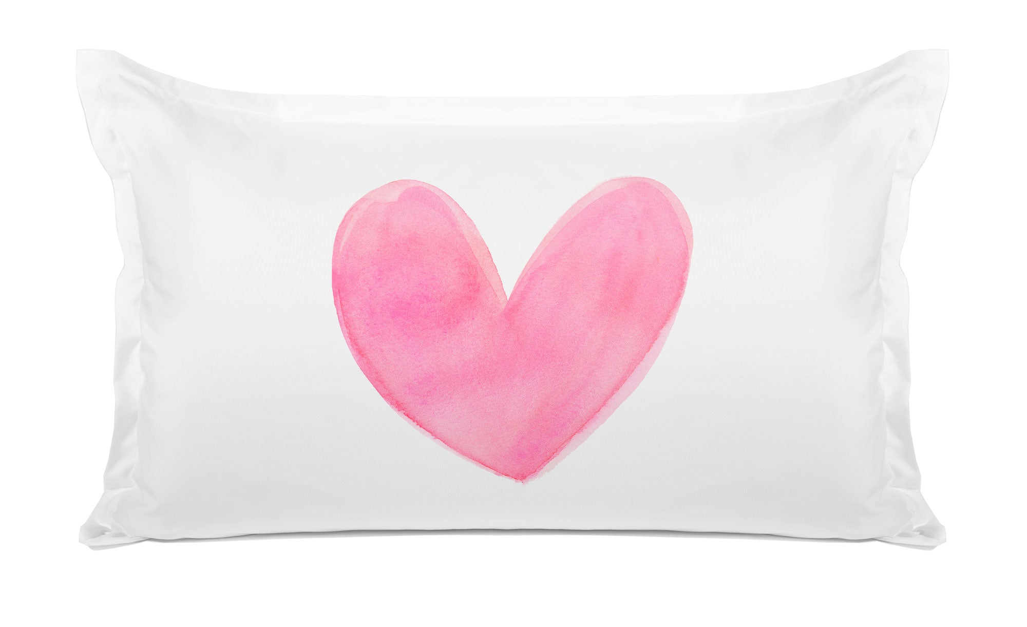 Pink Heart - Personalized Kids Pillowcase Collection