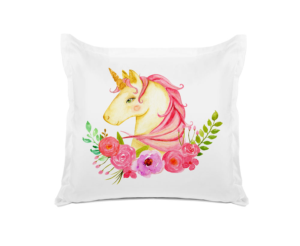 Pink Unicorn - Personalized Kids Pillowcase Collection