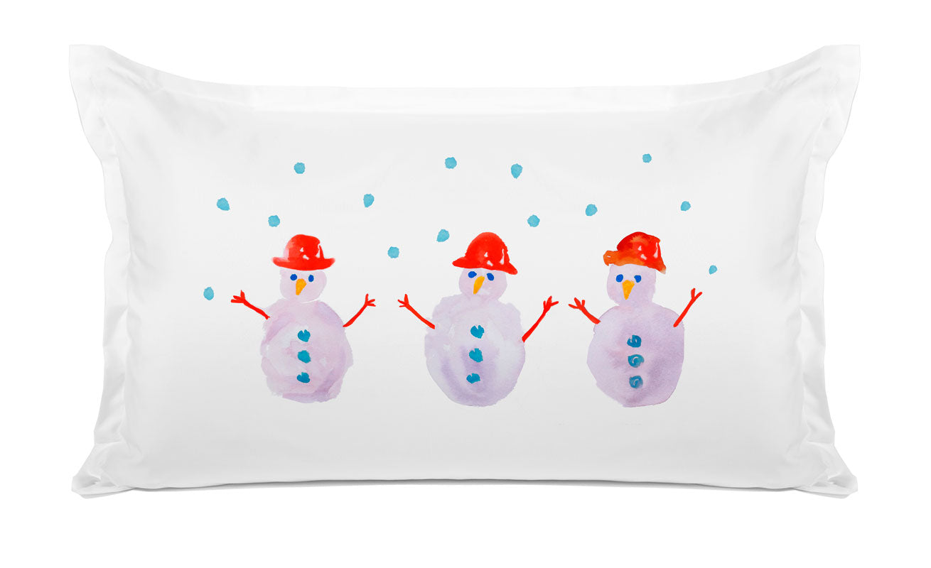 Let It Snow - Kids Personalized Pillowcase Collection