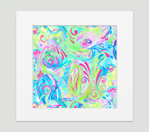 Spiro Art Print - Abstract Art Wall Decor Collection-Di Lewis