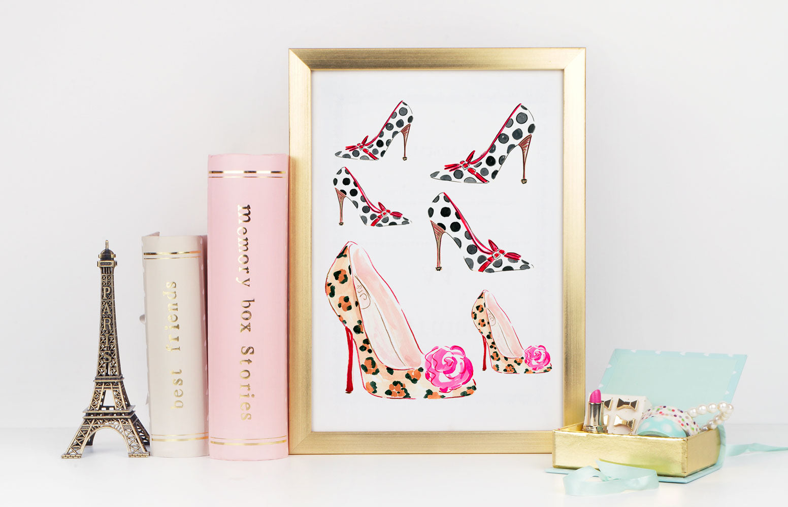 Step It Up Art Print - Fashion Illustration Wall Art Collection-Di Lewis