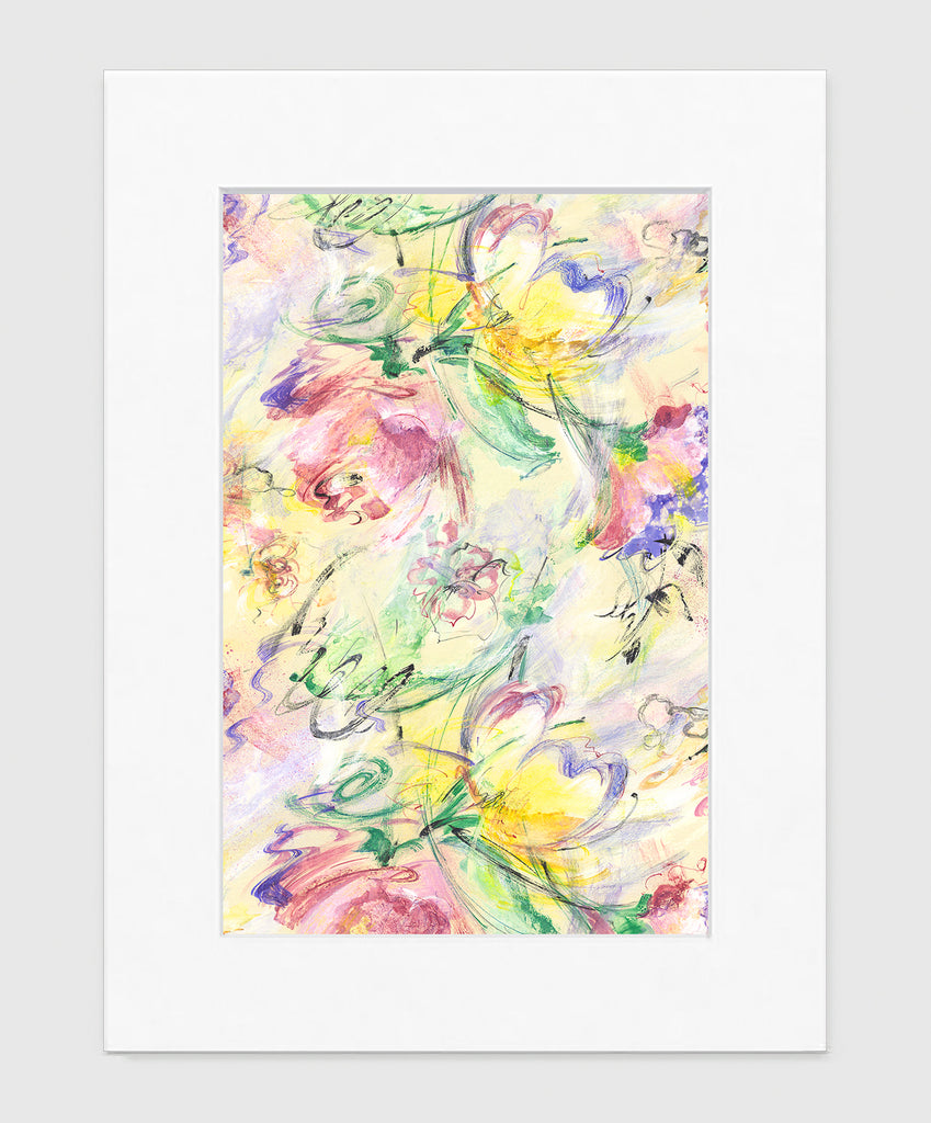 Summer Breeze Art Print - Impressionist Art Wall Decor Collection-Di Lewis