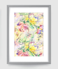Summer Breeze Impressionist Art Print Di Lewis Living Room Wall Decor