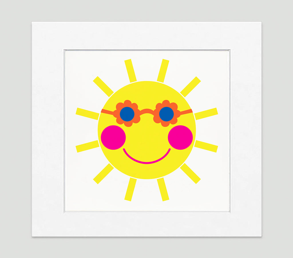 Sunny Art Print - Kids Wall Art Collection-Di Lewis