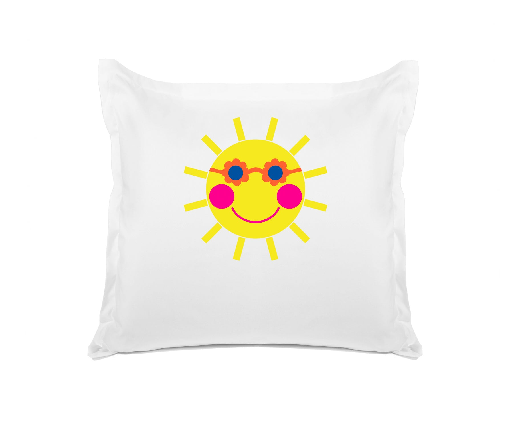 Sunny Kids Personalized Euro Sham, Di Lewis Kids Bedding