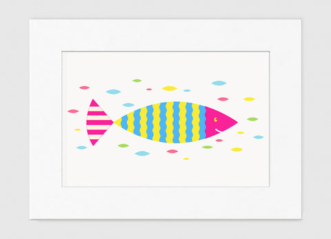 Sushi Art Print - Kids Wall Art Collection-Di Lewis