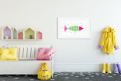 Sushi Kids Wall Decor Di Lewis Kids Bedroom Decor