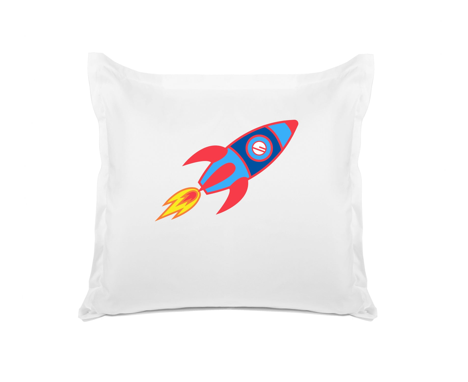 Take Me to the Moon Personalized Kids Euro Sham, Di Lewis Kids Bedding