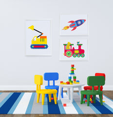Take Me to the Moon Kids Wall Decor Kids Bedroom Decor