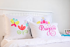 The Flower Fairy Kids Pillow, Di Lewis Girls Bedding