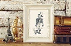The General Art Print - Animal Illustrations Wall Art Collection-Room Setting-Di Lewis