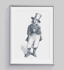 The General Cockatoo Art Print - Animal Illustrations Wall Art Collection-Di Lewis