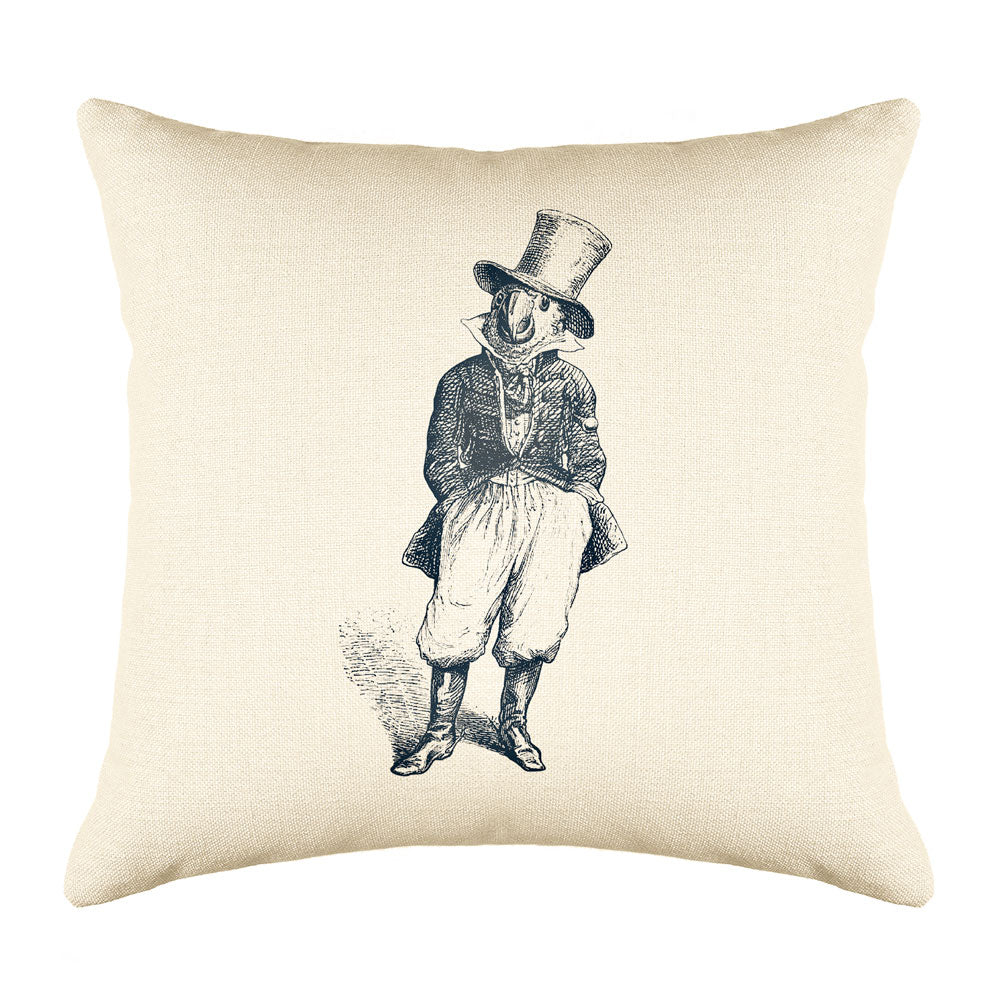 The General Throw Pillow Cover - Animal Illustrations Throw Pillow Cover Collection-Di Lewis