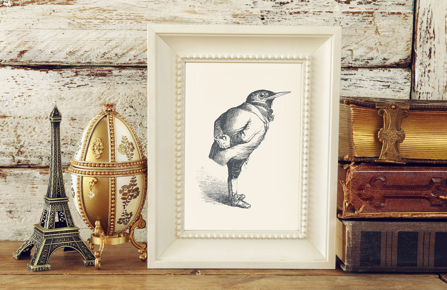 The Humble Starling Art Print