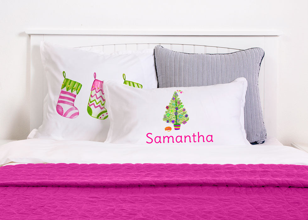 Ready For Santa - Kids Personalized Pillowcase Collection