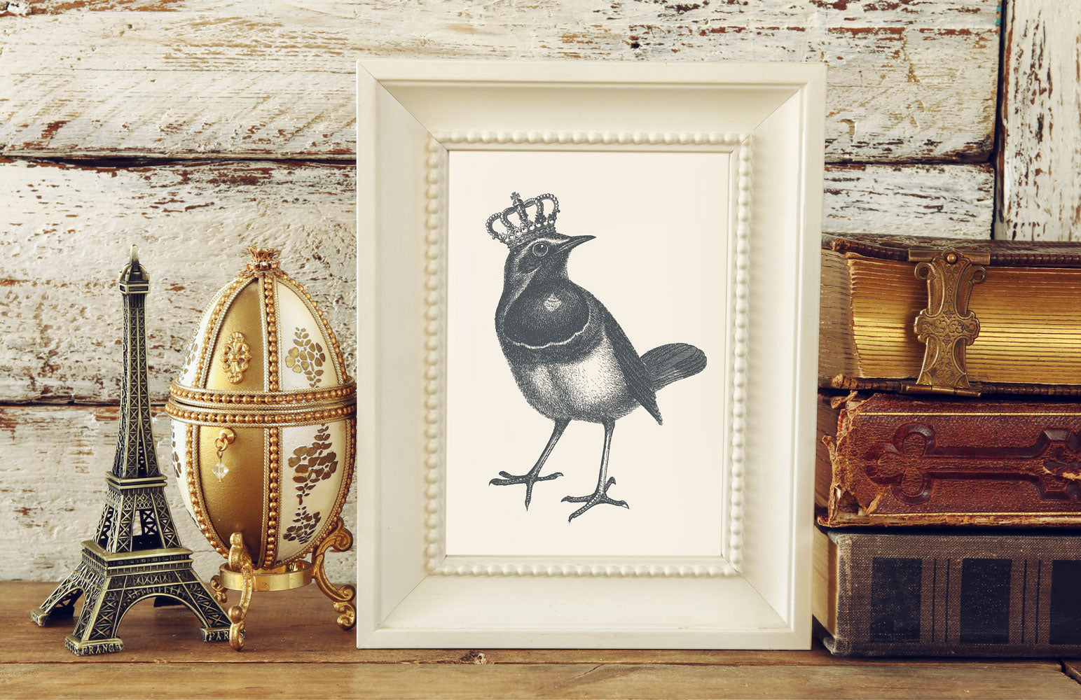 The Royal Robin Art Print