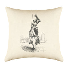 The Three Star Seargant Throw Pillow Cover