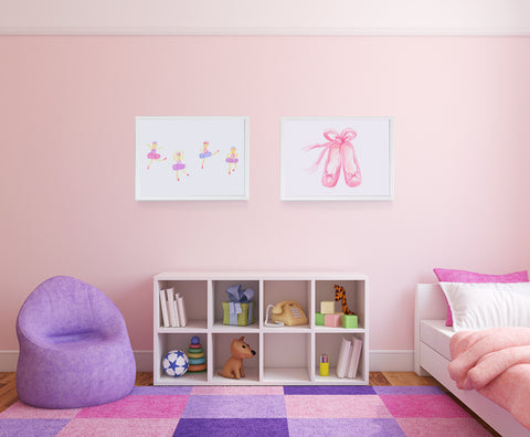Ballet Royale Kids Wall Decor Di Lewis Kids Bedroom Decor