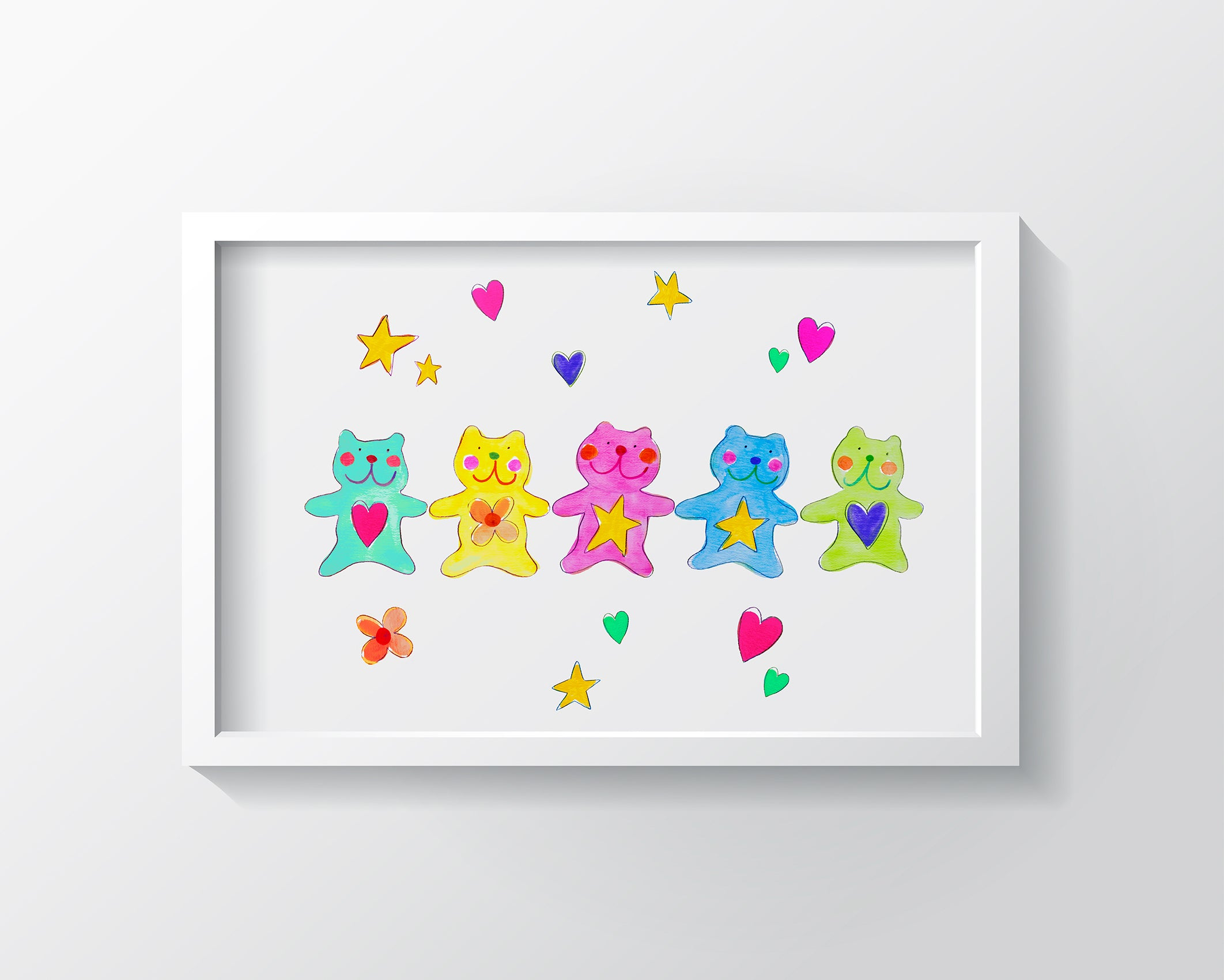 The Bears Kids Wall Decor Di Lewis Kids Bedroom Decor