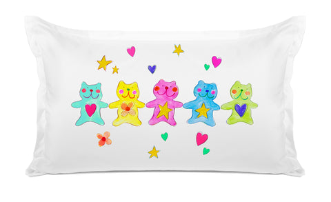 The Bears Kids Pillow, Di Lewis Kids Bedding