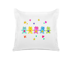 Pretty Colorful Bears - Personalized Kids Pillowcase Collection