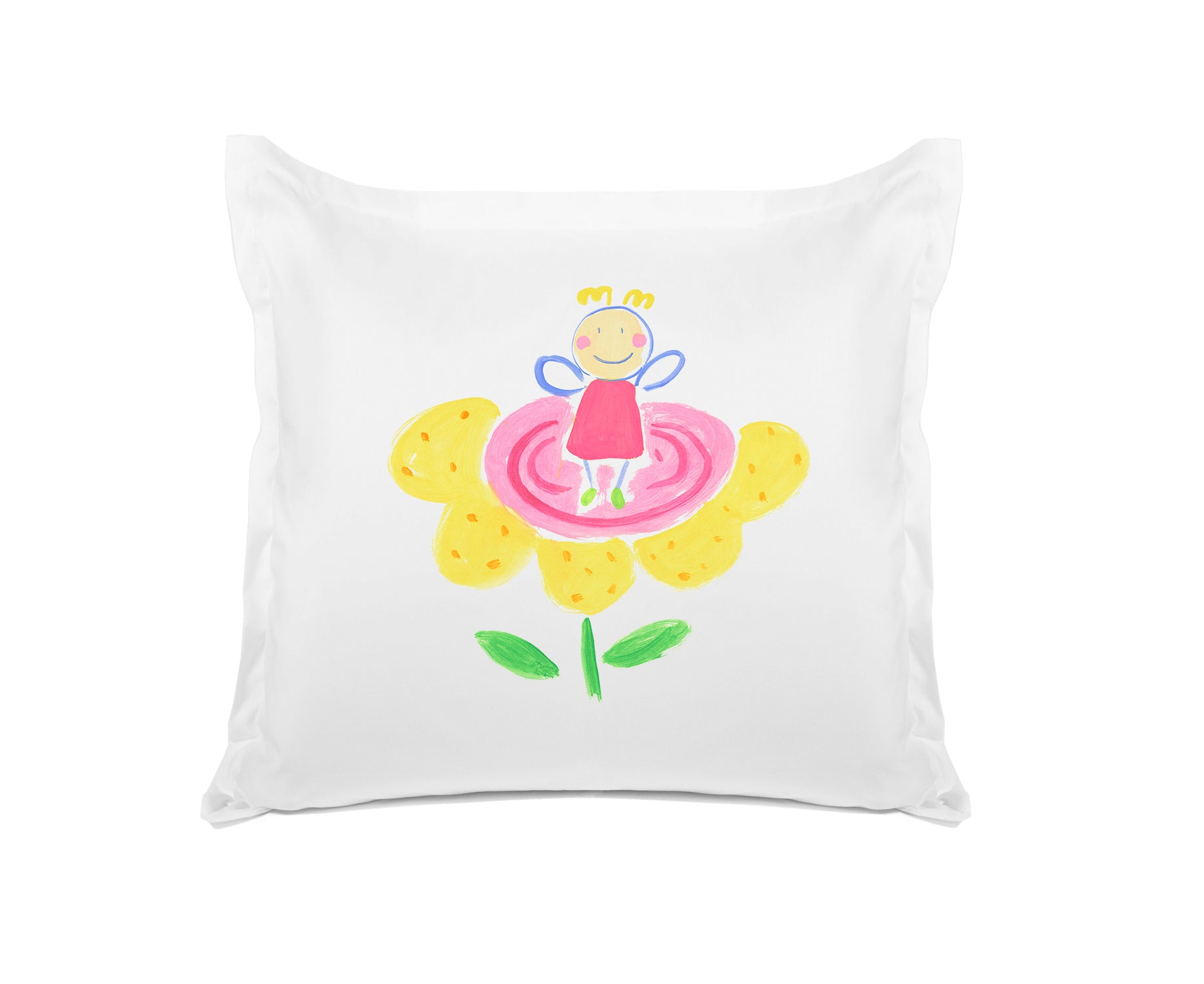 Colorful Flower Fairy - Personalized Kids Pillowcase Collection