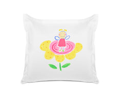 The Flower Fairy Kids Euro Sham, Di Lewis Girls Bedding