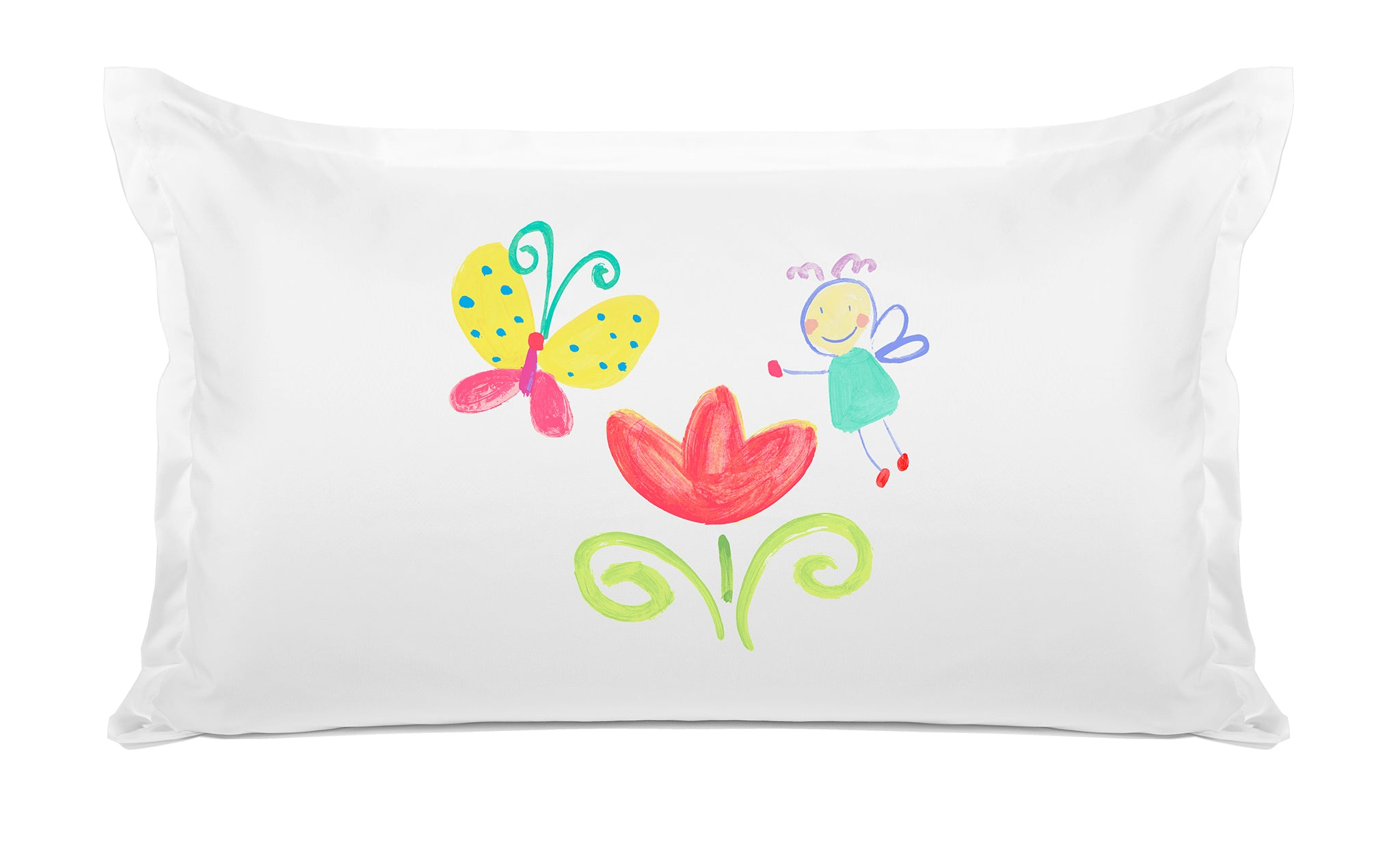The Garden Fairy - Personalized Kids Pillowcase Collection-Di Lewis