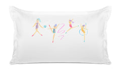 Gymnast Girls - Personalized Kids Pillowcase Collection