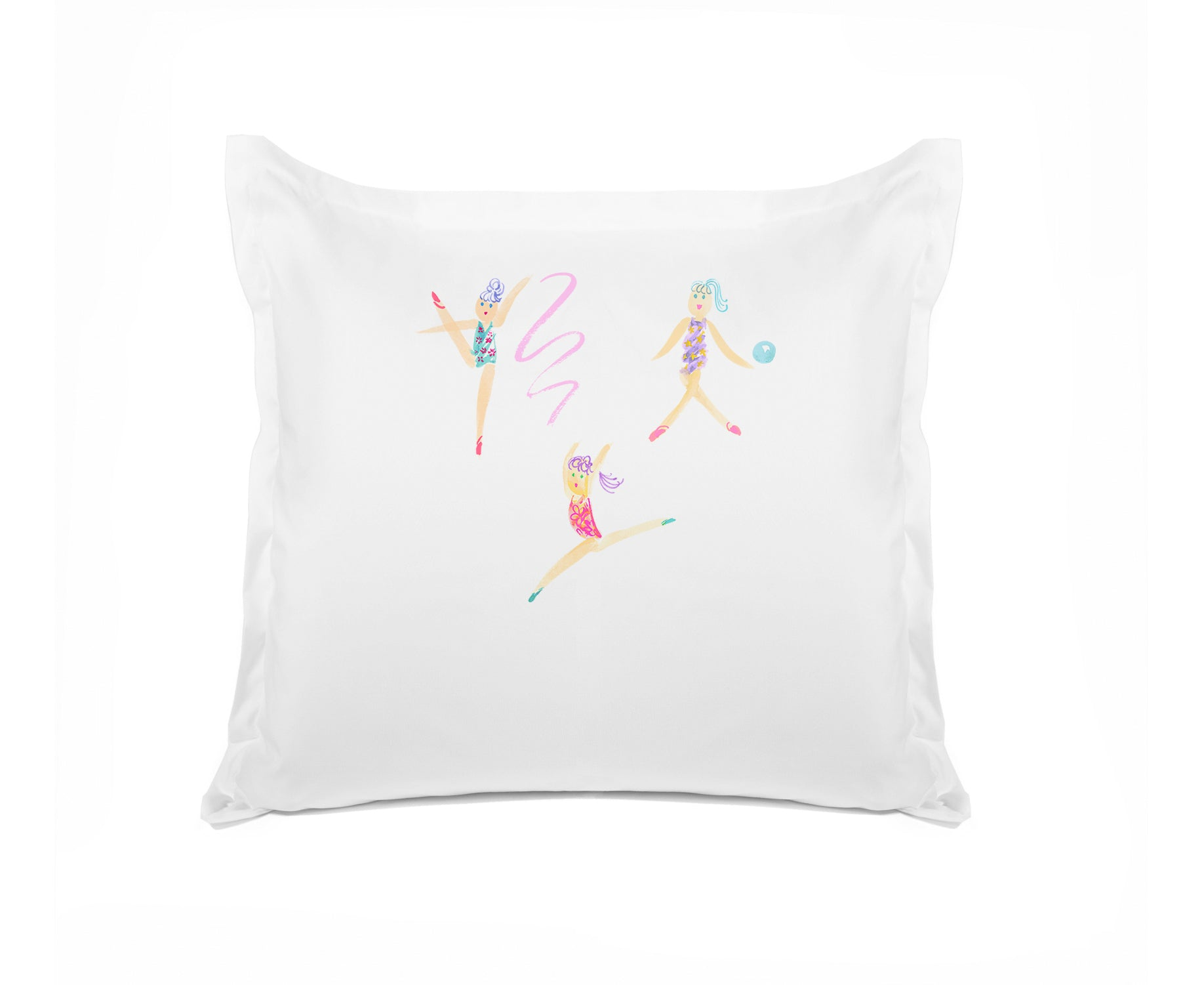 The Gymnasts - Personalized Kids Pillowcase Collection