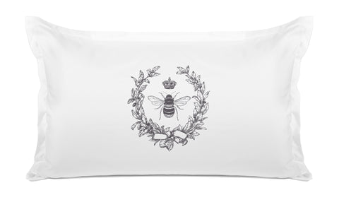 Napoleonic Bee - Decorative Pillowcase Collection-Di Lewis