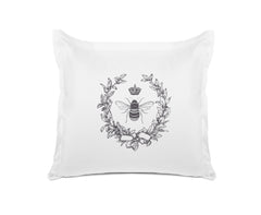 Napoleonic Bee Vintage Euro Sham Di Lewis bedroom decor
