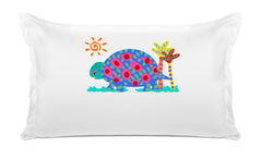 Tommy Tortoise Personalized Kids Pillow, Di Lewis Girls Bedding, Boys Bedding