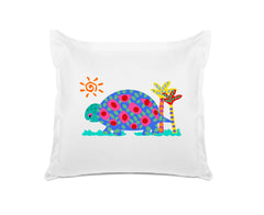 Tommy Tortoise - Personalized Kids Pillowcase Collection-Di Lewis