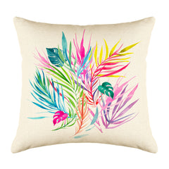 Tropical Leaf Throw Pillow Cover - Decorative Designs Throw Pillow Cover Collection