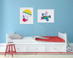 Up Up and Away Kids Wall Decor Di Lewis Kids Bedroom Decor