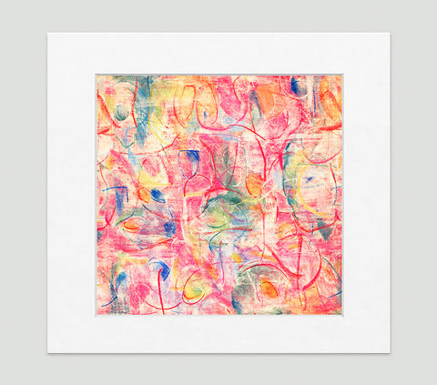 Voila Art Print - Abstract Art Wall Decor Collection-Di Lewis