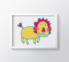 What'S Up Art Print - Kids Wall Art Collection-Di Lewis