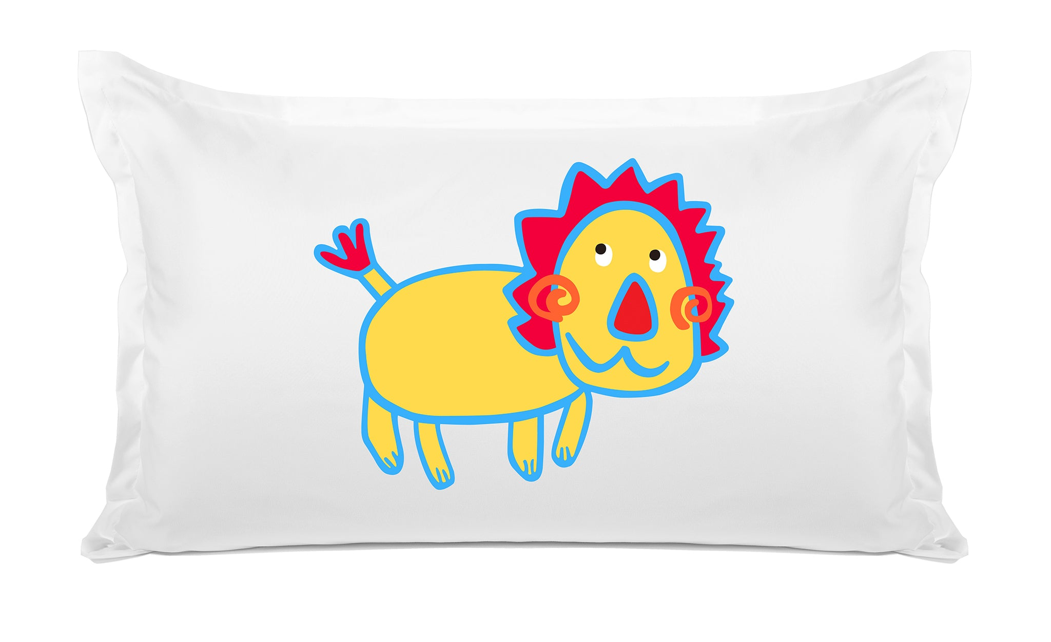 Gold Lion - Personalized Kids Pillowcase Collection
