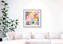 In Full Bloom Art Print - Impressionist Art Wall Decor Collection