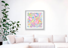Romance Art Print - Floral Art Wall Decor Collection-Di Lewis