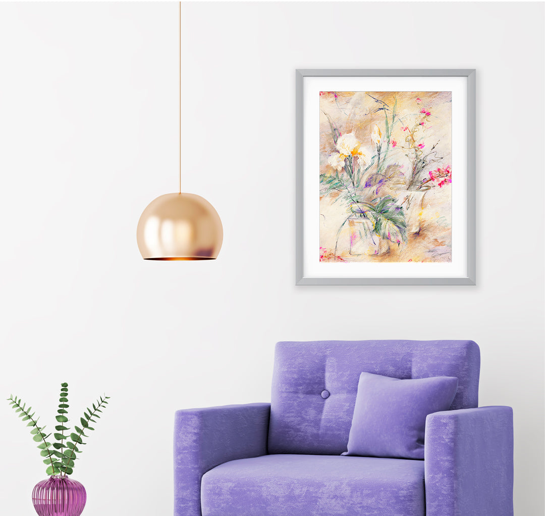 Luxembourg Art Print - Impressionist Art Wall Decor Collection-Di Lewis