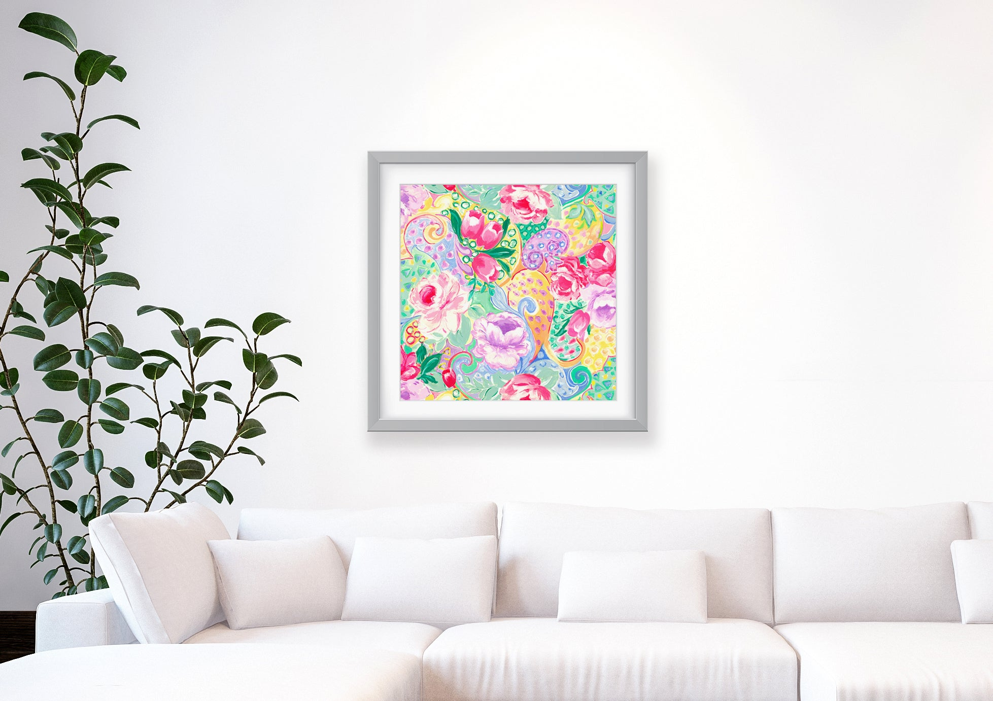 Tatulia Impressionist Art Print Di Lewis Living Room Wall Decor