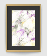 Windsong Abstract Art Print Di Lewis living Room Wall Decor